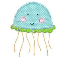 Jellyfish Raw Edge Applique