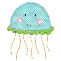 Jellyfish Raw Edge Applique