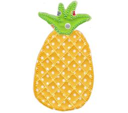 Pineapple Raw Edge Applique