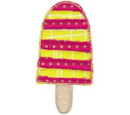 Popsicle Raw Edge Applique