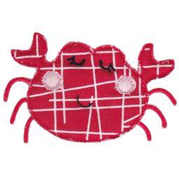 Crab Raw Edge Applique