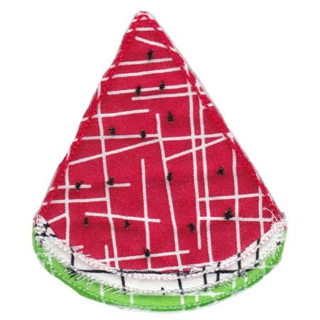 Watermelon Raw Edge Applique