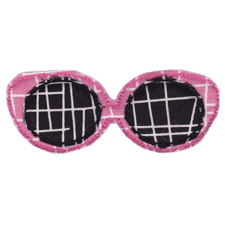 Sunglasses Raw Edge Applique