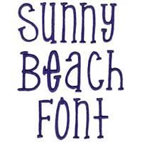 Sunny Beach Font