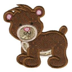 Sweet Applique Animals Three 1