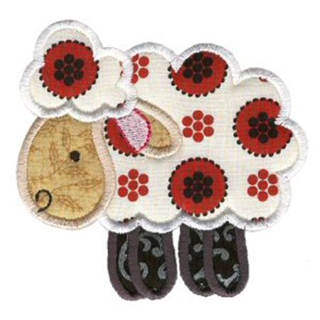 Sweet Applique Animals Three 11