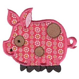 Sweet Applique Animals Three 9