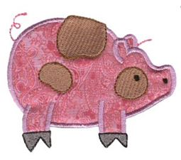 Sweet Applique Animals Too 6