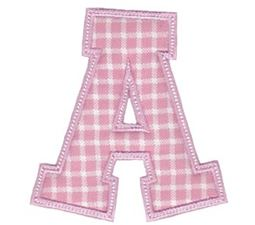 Sweet Greek Alphabet Applique 1