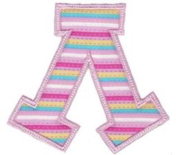 Sweet Greek Alphabet Applique 11