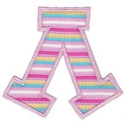 Sweet Greek Alphabet Applique 11