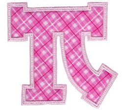 Sweet Greek Alphabet Applique 16