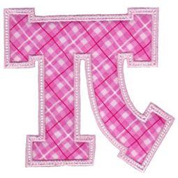 Sweet Greek Alphabet Applique 16