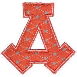 Sweet Greek Alphabet Applique 4