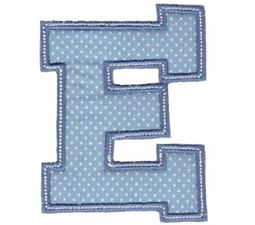 Sweet Greek Alphabet Applique 5