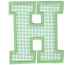 Sweet Greek Alphabet Applique 7