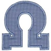 Sweet Greek Alphabet Applique