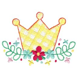 Floral Princess Crown