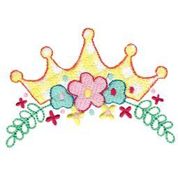 Floral Princess Tiara
