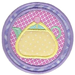 Rounded Teapot Coaster