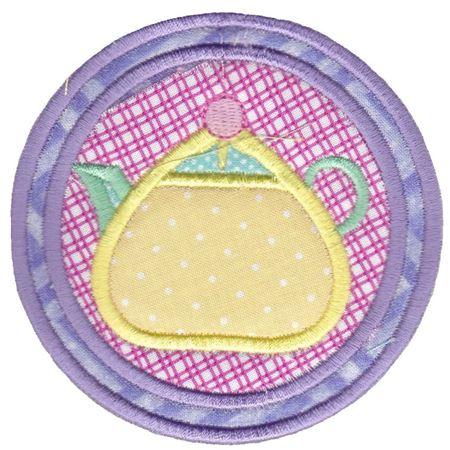 Rounded Teapot Coaster