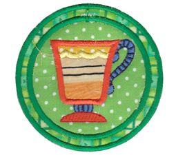 Tea Time Coasters 4