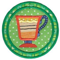 Footed Mug Coaster