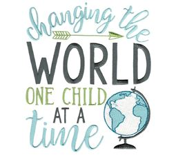 Change The World One Child At A Time