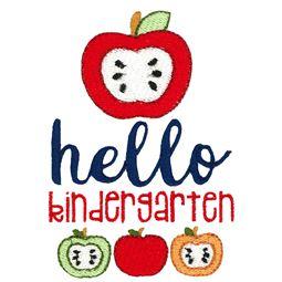 Hello Kindergarten