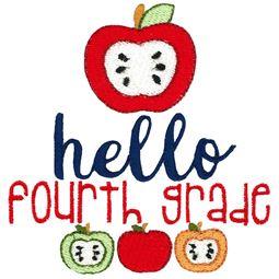 Hello Fourth Grade