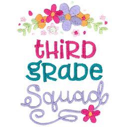 Third Grade Squad