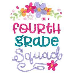 Fourth Grade Squad