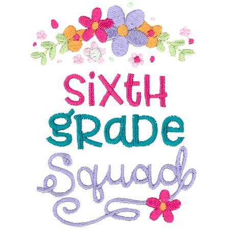 Sixth Grade Squad