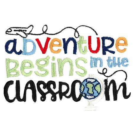 Adventure Begins In The Classroom