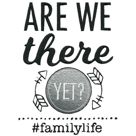 Are We There Yet Family Life