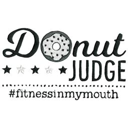 Donut Judge Fitness In My Mouth
