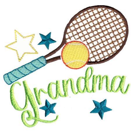 Tennis Grandma