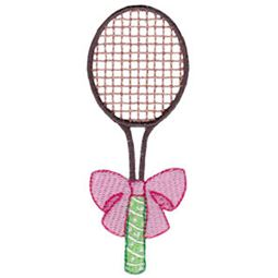 Tennis Racket With Bow
