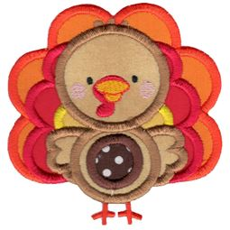 Applique Turkey