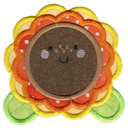 Applique Sunflower