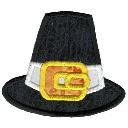 Pilgrim Hat Applique