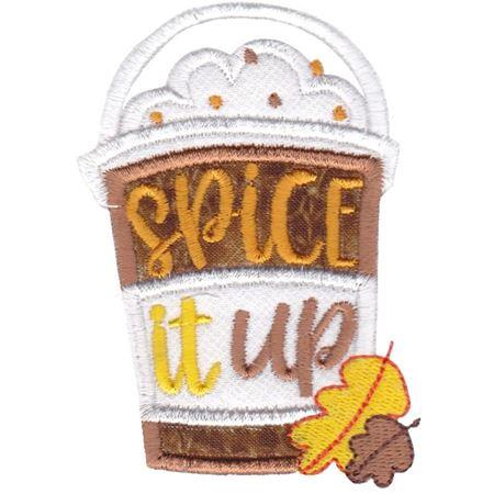 Spice It Up Pumpkin Latte Applique