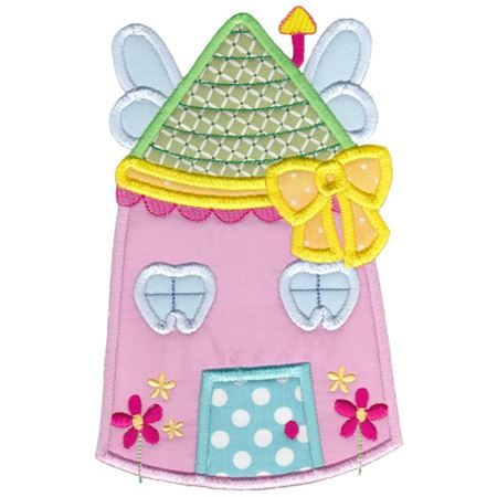 Tooth Fairy House Applique