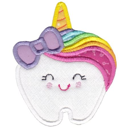 Unicorn Tooth Applique