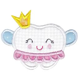 Princess Tooth Applique