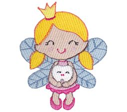 Tooth Fairy Holding Tooth