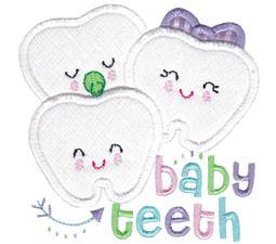Baby Teeth Applique