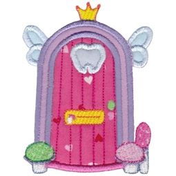 Tooth Fairy Door Applique