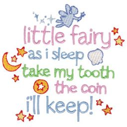 Little Fairy As I Sleep Take My Tooth The Coin I