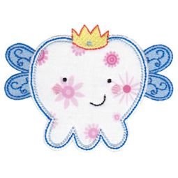 Applique Boy Fairy Tooth